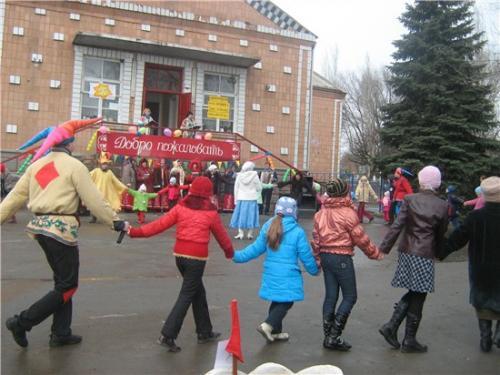 Масленица в с. Большая Неклиновка - 2009г.