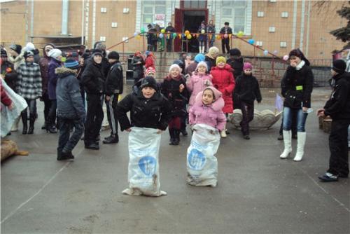 Масленица в с. Большая Неклиновка - 2011г.